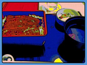 Unagi dinner