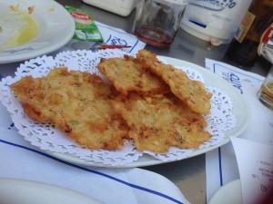 tortita camarone romerijos